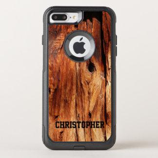 模造のな天候のプラス木製のオッターボックスの通勤者のiPhone 7 オッターボックスコミューターiPhone 8 Plus/7 Plusケース