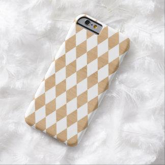 模造のな木製のiPhone6ケースの白い道化師パターン iPhone 6 ベアリーゼアケース