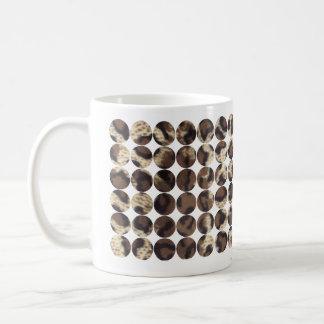 模造のな毛皮 コーヒーマグカップ