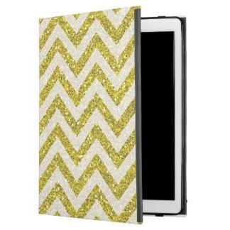 """模造のな金ゴールドのグリッターのiPadのプロ場合 iPad Pro 12.9"""" ケース"""