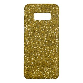 模造のな金ゴールドのグリッターパターン Case-Mate SAMSUNG GALAXY S8ケース
