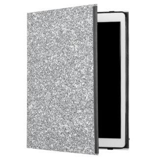 """模造のな銀製のグリッターのiPadのプロ場合 iPad Pro 12.9"""" ケース"""