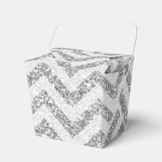 模造のな銀製のグリッターは好意箱を取ります フェイバーボックス