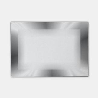 模造のな銀製の金属後it®ノート ポストイット
