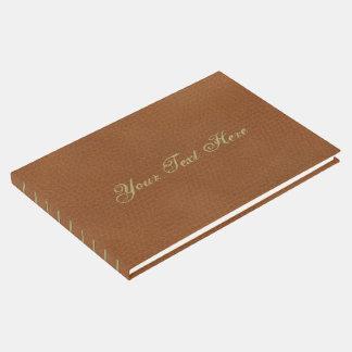 模造のな革パターン ゲストブック