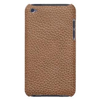 模造のな革自然なブラウン Case-Mate iPod TOUCH ケース