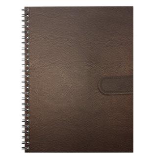 模造のな革 ノートブック
