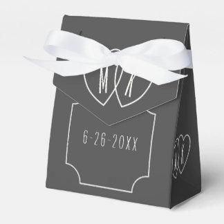 模造のな黒板の結婚式の連結のハートの好意 フェイバーボックス