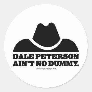 模造DaleピーターソンAint ラウンドシール