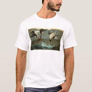 権利およびWinslowホーマー著去られて Tシャツ