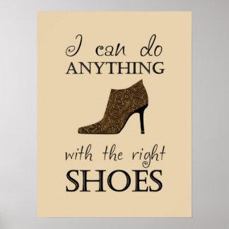 権利の靴 ポスター
