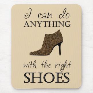 権利の靴 マウスパッド