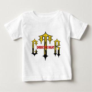 権利を選んで下さい ベビーTシャツ