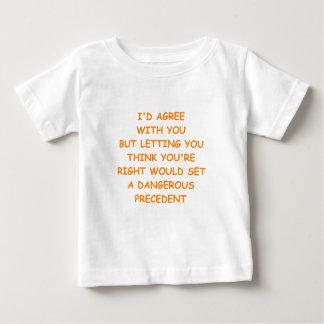 権利 ベビーTシャツ