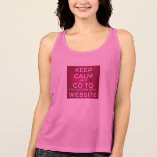 権限を与えます人々の活動的な衣服(女性のコレクション)に タンクトップ