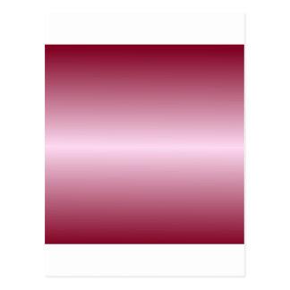 横のピンクのレースおよびバーガンディの勾配 ポストカード