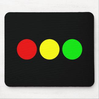 横の信号 マウスパッド