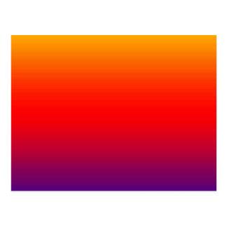 横の色のスペクトル-1 ポストカード