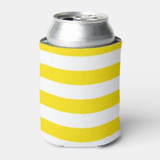 横の黄色のストライプ 缶クーラー