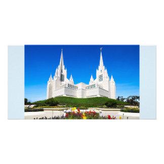 横のLDSサンディエゴの寺院 カード