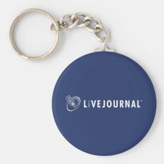 横のLiveJournalのロゴ キーホルダー