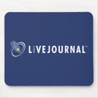 横のLiveJournalのロゴ マウスパッド