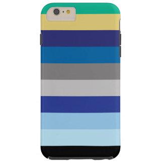 横冬色で縞で飾ります TOUGH iPhone 6 PLUS ケース