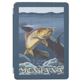 横断面-モンタナ--を採取しているマス iPad AIR カバー