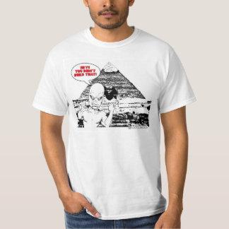 横柄なエイリアン Tシャツ