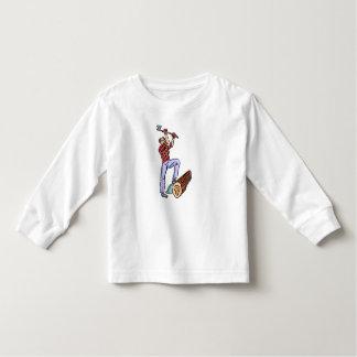 樵 トドラーTシャツ