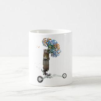 樹上の家のチョッパーのオートバイ コーヒーマグカップ