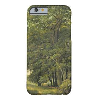 樹木が茂った景色(パネルの紙の油) BARELY THERE iPhone 6 ケース