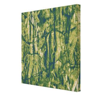 樹皮のカムフラージュパターン キャンバスプリント