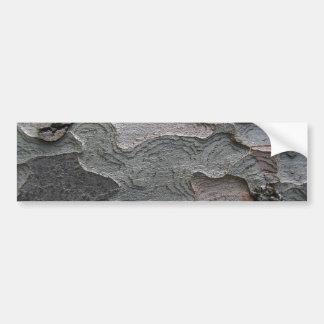 樹皮のマクロ写真撮影 バンパーステッカー