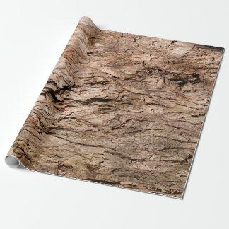 """樹皮の包装紙、30"""" x 6' ラッピングペーパー"""