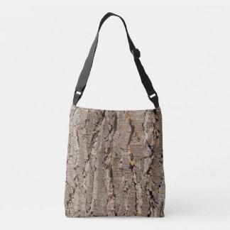 樹皮の十字の遺体袋 クロスボディバッグ