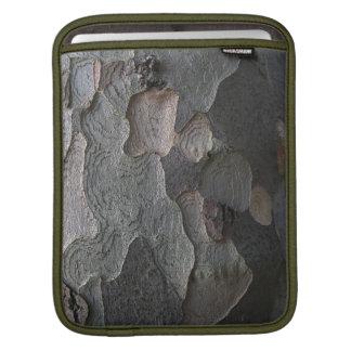 樹皮の質 iPadスリーブ