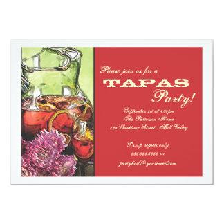 樹皮布のパーティの招待状 カード