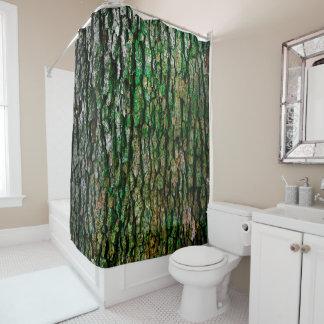 樹皮 シャワーカーテン