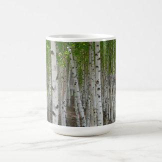 樺の木のマグ コーヒーマグカップ