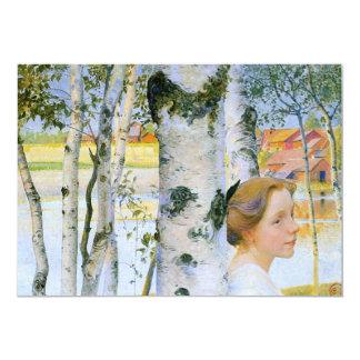 樺の木のリスベート カード