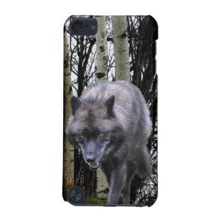 樺の木の森林及びオオカミの自然のIPodの箱 iPod Touch 5G ケース