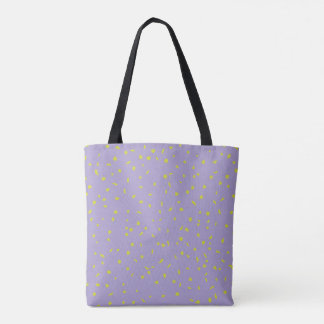 樺の木はトートバックをくまなく薄紫に服を着せています トートバッグ