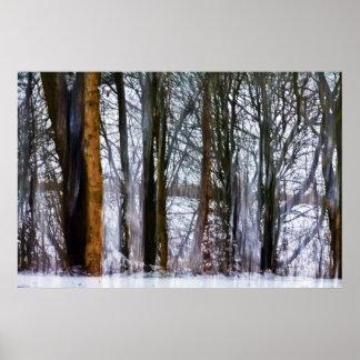 樺の木森 ポスター
