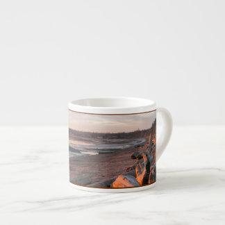 樺の木湾の日没 エスプレッソカップ