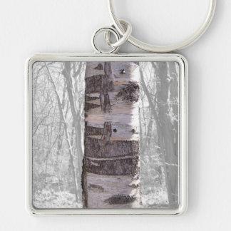 樺の木 キーホルダー