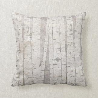 樺の木 クッション