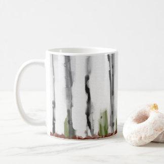 樺の木 コーヒーマグカップ