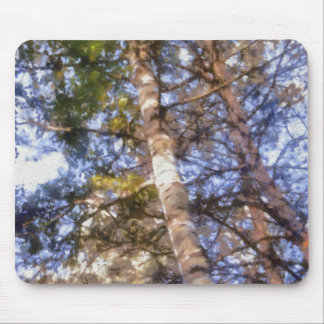 樺の木 マウスパッド