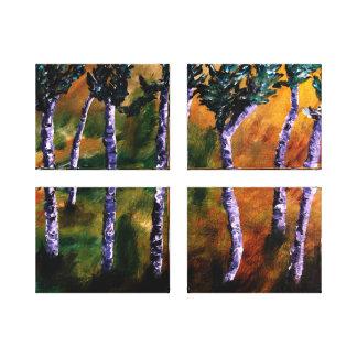 樺の木|森林|パネル|キャンバス ギャラリー張りキャンバス